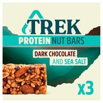 Trek Protein Nut Bar Multipack Dark Chocolate & Sea Salt