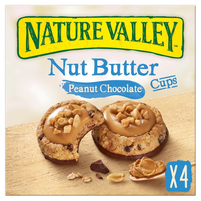 Nature Valley Nut Butter Cups Peanut & Chocolate Biscuits