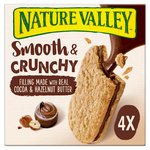 Nature Valley Nut Butter Cocoa & Hazelnut Biscuit Cereal Bars