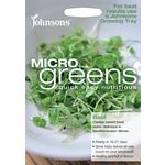 Johnsons Seeds - Microgreens Basil