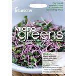 Johnsons Seeds - Microgreens Radish