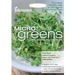 Johnsons Seeds - Microgreens Rocket