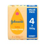 Johnson's Baby Soap Honey