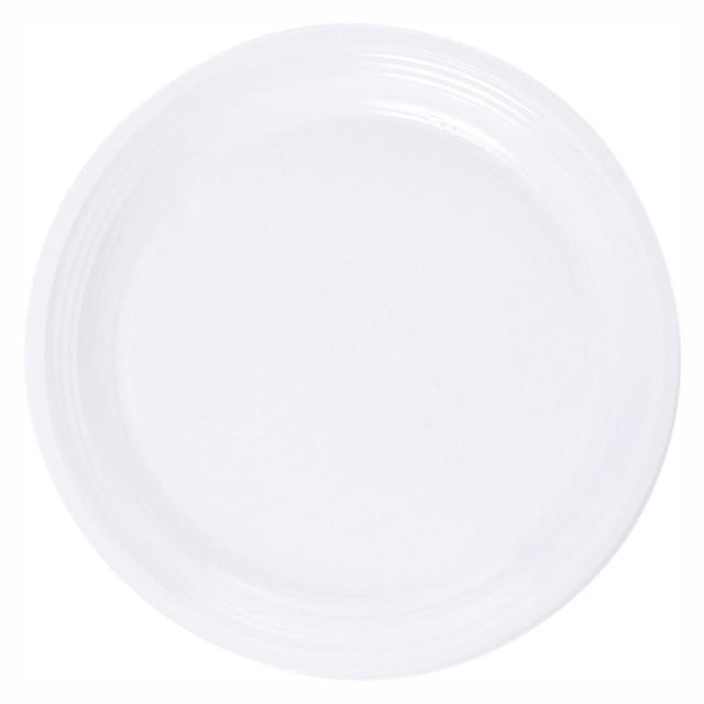 Plastic Plates Round 23cm White  sc 1 st  Ocado & Plastic Plates Round 23cm White 20 per pack from Ocado