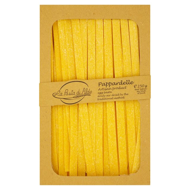 Pasta Di Aldo Pappardelle All Uovo Egg Pasta Air Dried