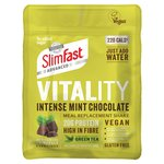 SlimFast Vitality Vegan Intense Mint Chocolate Powder