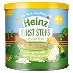 Heinz First Steps Multigrain with Cauliflower, Broccoli & Cheese