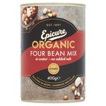 Epicure Organic Four Bean Mix