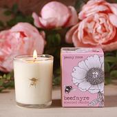 Beefayre Peony Rose Votive 9cl Candle