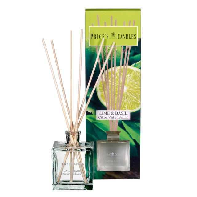 Price's Candles Lime and Basil Reed Diffuser