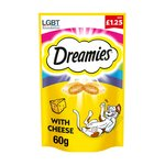 Dreamies Cat Treats with Cheese