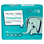 Mum & You Nappychat Smart Tube Nappies Size 5
