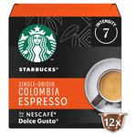 Starbucks Medium Colombia Coffee Pods by NESCAFE Dolce Gusto