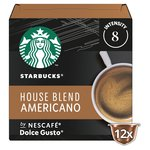 Starbucks Medium House Blend Coffee Pods Dolce Gusto