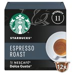 Starbucks Dark Espresso Roast Coffee Pods by NESCAFE Dolce Gusto
