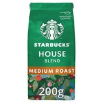 STARBUCKS House Blend, Medium Roast, Ground Coffee