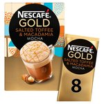 Nescafe Gold Salted Toffee Macadamia Coffee