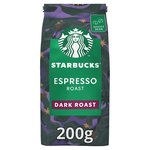 STARBUCKS Espresso Roast, Dark Roast Coffee Beans