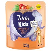 Tilda Kids Vegetable Paella Rice