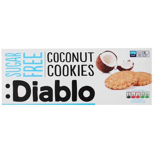 Diablo Sugar Free Coconut Cookies