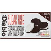 Diablo Sugar Free Dark Sandwich Cookies
