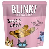 Blink Bangers & Mash, Tuna & Chicken Cat Treats