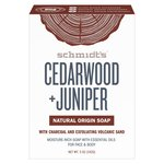 Schmidt's Natural Bar Soap Cedarwood & Juniper