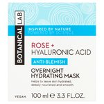 Botanical Lab Rose Petal Overnight Hydrating Mask