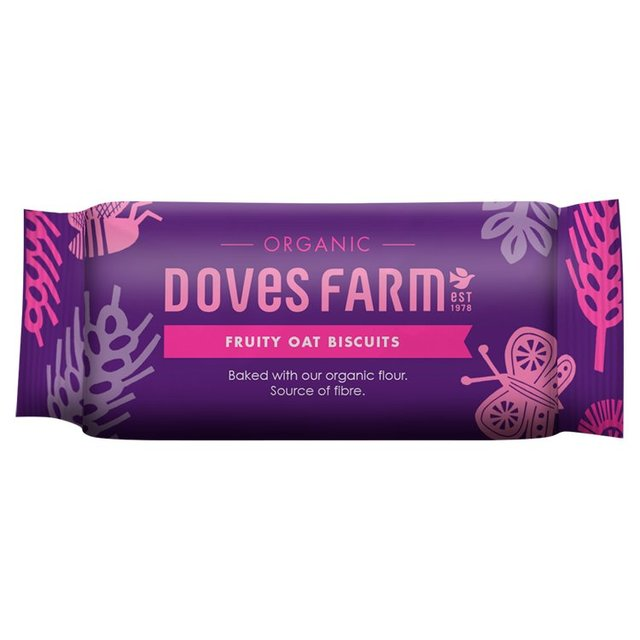 Doves Farm Organic Digestives Fruity Oat