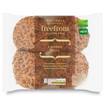 Waitrose Free From 4 Seeded Rolls