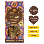 Aduna Relax Tea with Cinnamon Spiced Cacao