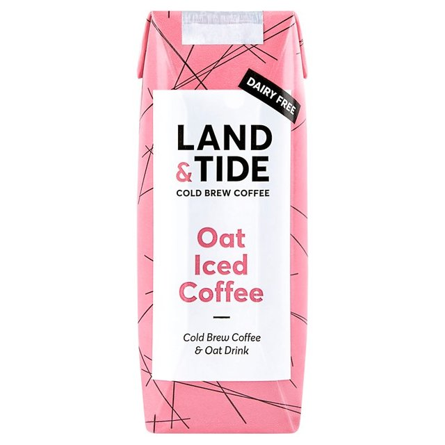 Land & Tide Oat Iced Coffee with Cold Brew Coffee