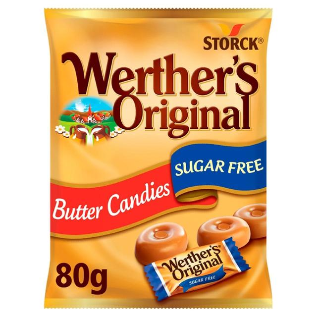 werther s original butter candies sugar free 80g from ocado