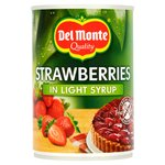Del Monte - Strawberries in Light Syrup