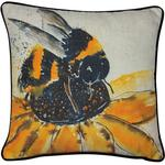 Malini Berty Bee Print Cushion