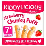 Kiddylicious Strawberry Chunky Puffs