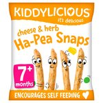 Kiddylicious Cheese & Herb Ha-Pea Snaps