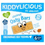 Kiddylicious Coconut Oaty Bars