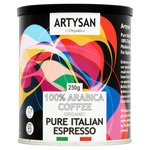 Artysan Organic 100% Arabica Pure Italian Espresso Ground Coffee