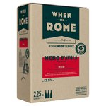When in Rome Nero d' Avola Sicilia DOC