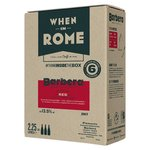 When in Rome Wine Barbera DOC Piemonte