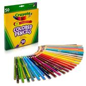 Crayola 50 Coloured Pencils