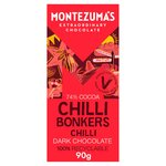 Montezuma's Dark Chocolate with Chilli Bar