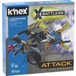 K'NEX X-Battlers, X-Saw Attackers Building Set 7+