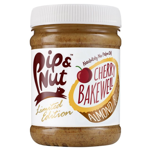 Pip & Nut Cherry Bakewell Almond Butter Limited Edition