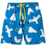 Frugi Organic Blue Swim Shorts