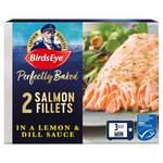 Birds Eye Inspirations 2 Salmon Fillets in a Lemon & Herb Sauce Frozen