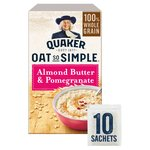 Quaker Oat So Simple Almond Butter & Pomegranate