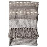 Gallery Direct Nador Hand Embellished Throw, Natural