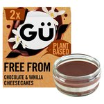 Gu Free From Chocolate & Vanilla Cheesecakes